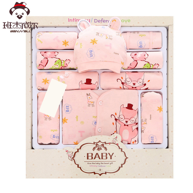13PCS infant clothing Long Sleeves newborn baby boy clothes suit Wear Spring Autumn Casual 100% Cotton Baby Girl Clothing Set 2pcs set cotton spring autumn baby boy girl clothing sets newborn clothes set for babies boy clothes suit shirt pants infant set
