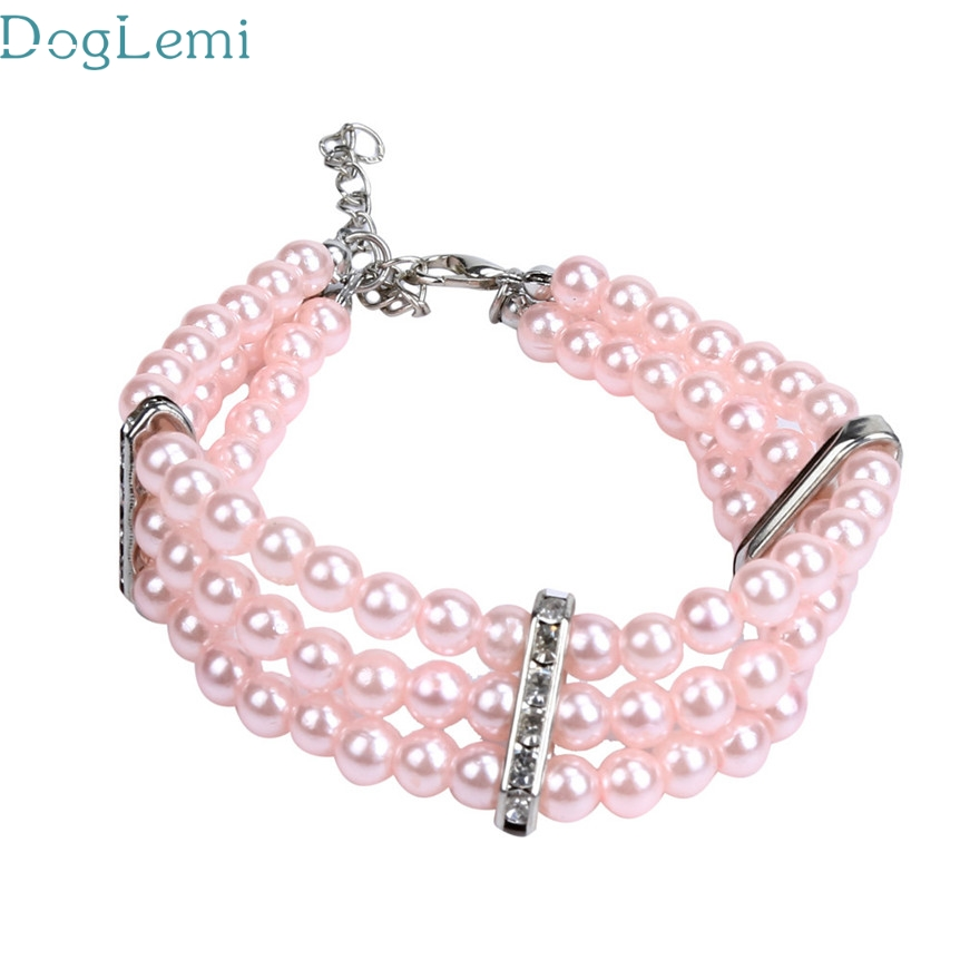 dog collar Doglemi Pets Acessorios hot selling Dog Butterfly Pendant Pet Necklace Collar Jewelry Jun10