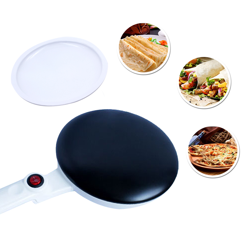 Frying pan pancake maker electricCrepe MakersThe non-stick coating white 900W2017 in the latest  the big pancake