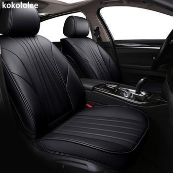 kokololee pu leather car seat covers for honda crv lada largus volvo s80 koleos vw golf jimny subaru outback auto accessories
