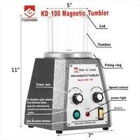 KD 100 магнитный массажер шлифовальные машины Мини Магнитный Ювелирные изделия полировщик стакан ювелирные инструменты окончательной полир