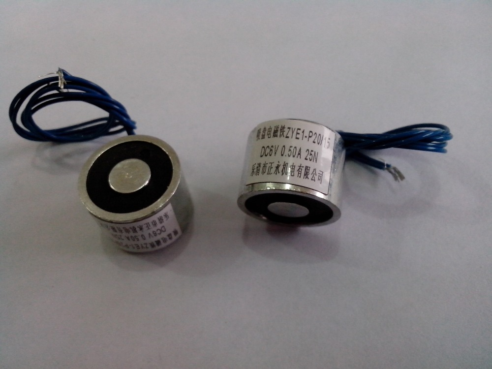 5.6lbs DC 12V Holding Electromagnet Lift Solenoid  цены