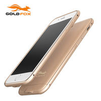 Para El Iphone 7 7 Teléfono más Móvil Ultra Silm Externo Caso Del Cargador de batería Cubierta de la Cubierta de la Batería Banco de la Energía de Carga de la Batería caso