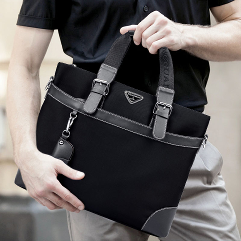 ФОТО New Brand Design Waterproof Oxford Male Bag Handbag 14