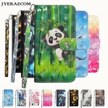JYERAECOM Flip PU Leather + Wallet Cover Case For Coque