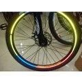 Bicicleta Reflexiva Etiqueta 5 cores opções de 5 pacotes/lote