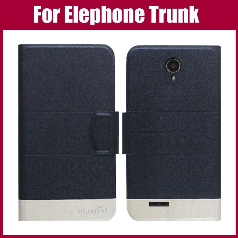 Πολύ καλή προσφορά! Elephone Trunk Case New Arrival 5 Colors Fashion Flip Εξαιρετικά λεπτό δερμάτινο προστατευτικό κάλυμμα για Elephone Trunk Case