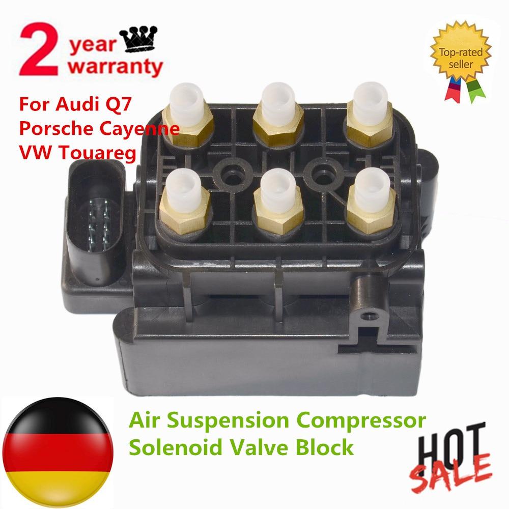 Air Suspension Compressor Solenoid Valve Block For Audi Q7 Porsche Cayenne VW Touareg 7L0 698 014, 7L0698014, 7P0698014
