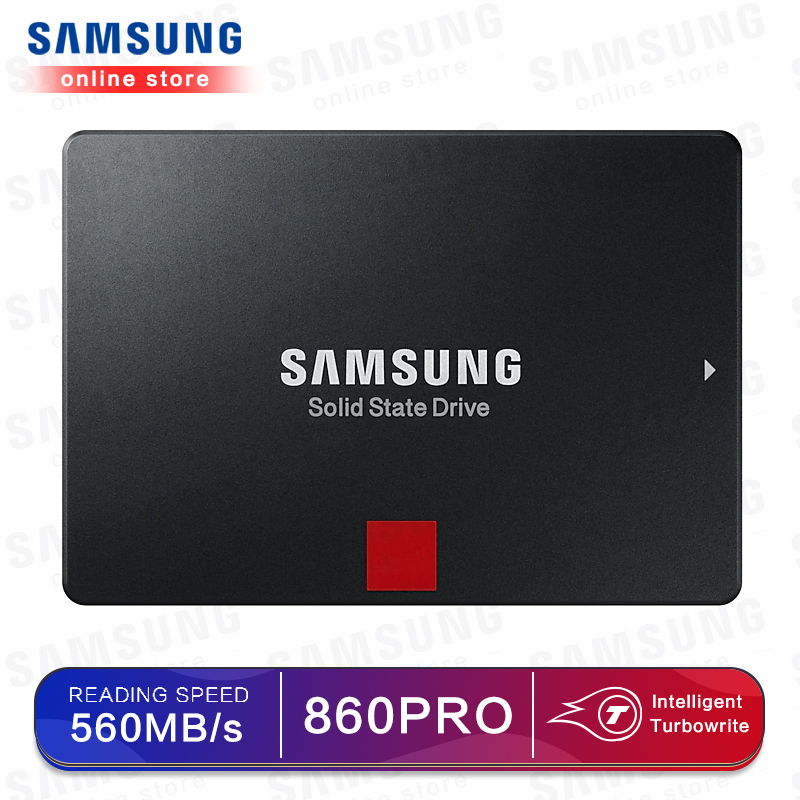 SAMSUNG SSD 860 PRO 256GB 512GB Internal Solid State Disk HDD Hard Drive SATA 3 2.5 HHD For Laptop Desktop PC 1TB 2TB 4TB