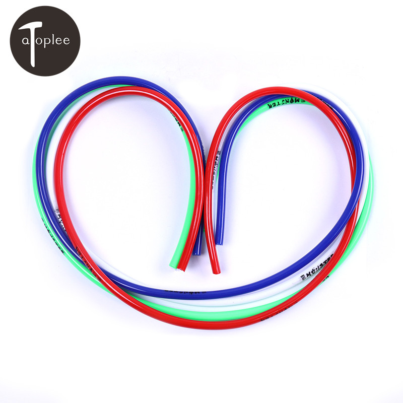 1M 4.3mm Inner High Quality Motorcycle Petrol Hose Oil High Temperature Resistant Rubber Fuel Line Red/Blue/Green/White