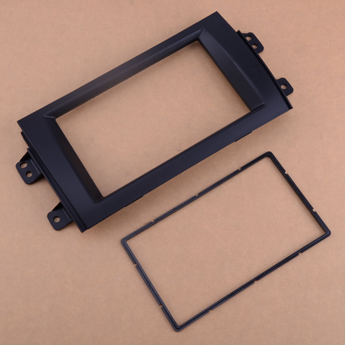 DWCX Car Double Din Stereo Radio Fascia Board Face Plate Frame Panel Trim Dash Kit Fit for <font><b>Suzuki</b></font> <font><b>SX4</b></font> Dashboard Replacement image