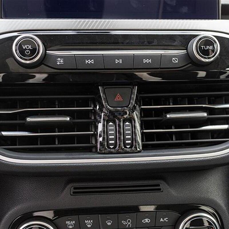 Купить для ford focus 2019 abs матовая/углеродное волокно интерьерная
