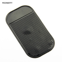 MOONBIFFY Anti-Slip Car Dashboard Sticky Pad Non-Slip Mat GPS Mobile Phone Holder Black Color