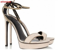 2017 Summer Hot Sale Open Toe Woman Sandals Elegant Dress Shoes Female High Heel Wedding Party