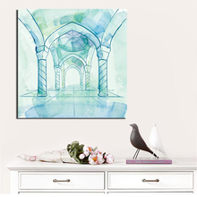 Islamic Design Background Vector Canvas Painting Print Living Room Home Decoration Modern Wall Art Oil Painting Posters Pictures