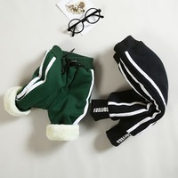 Kid Toddler Child Harem Pants Baby Boy Girl Trousers Bottoms Kid Boy Girl Trousers Winter Warm Baby Children Thicken Trousers