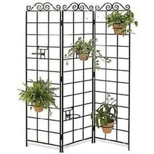 Iron flower stand basin balcony floor blue flowers flower pot shelf rack screen flower