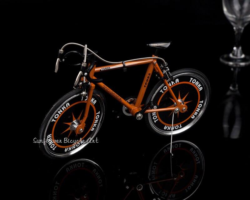Simulé Alliage Modèle De Vélo voiture de course Jouets de Haute qualité décoration d'intérieur Cadeaux