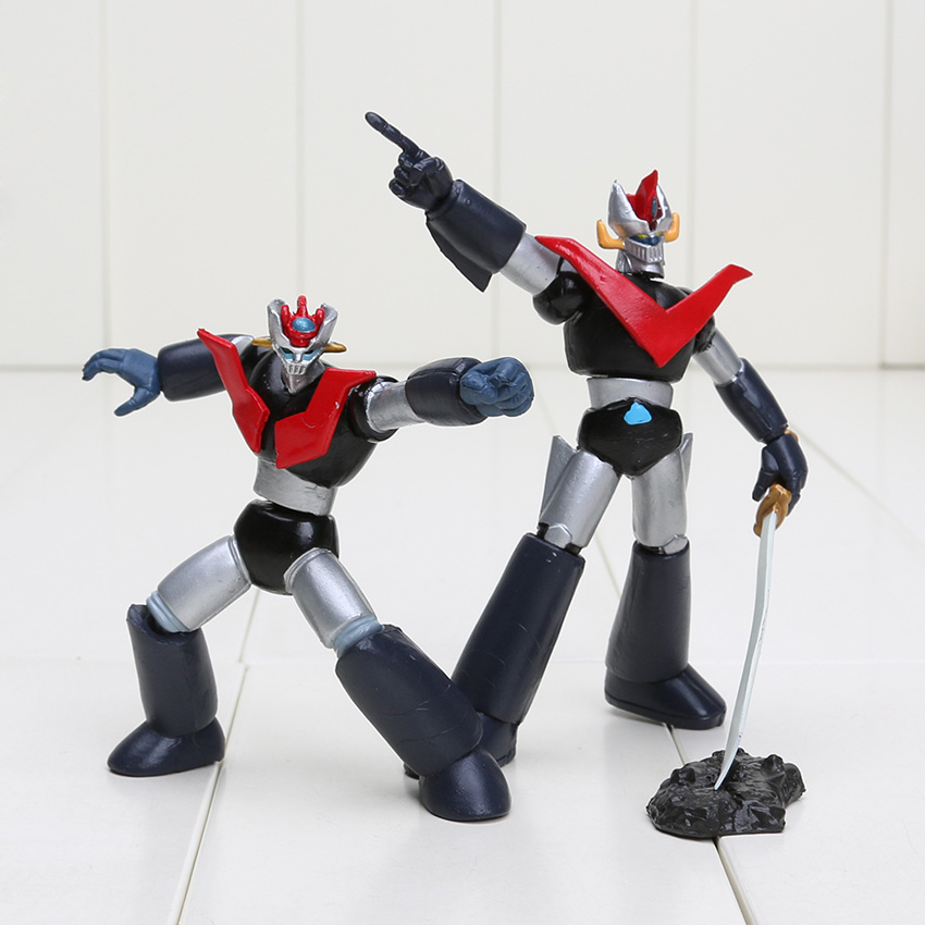 2pcs/set 7 9cm Mazinger Z Anime PVC Action Figure Kids