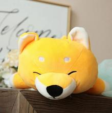 WYZHY Akita Dog Doll Pillow Plush Toy Sofa Decoration Send Friends and Children Gifts 60CM creative 3d akita home decoration dog shape design pillow