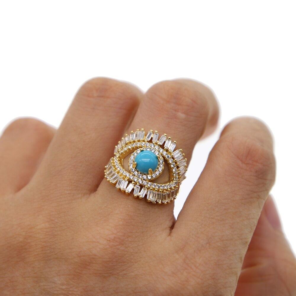delicate turkish evil eye jewelry baguette cubic zirconia ...
