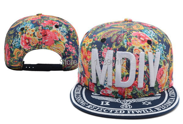 Pleasing Mdiv Snapback Floral 2014 Snapbacks Hats Cool Snap Back Hats Boys Hairstyles For Men Maxibearus