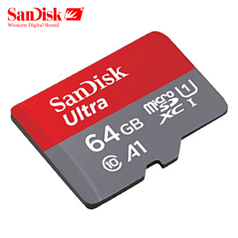 100% Original SanDisk Micro SD Card Memory Card 16GB 32GB 64GB TF Card Class 10 UHS-I Microsd 128GB For Samrtphone Table PC