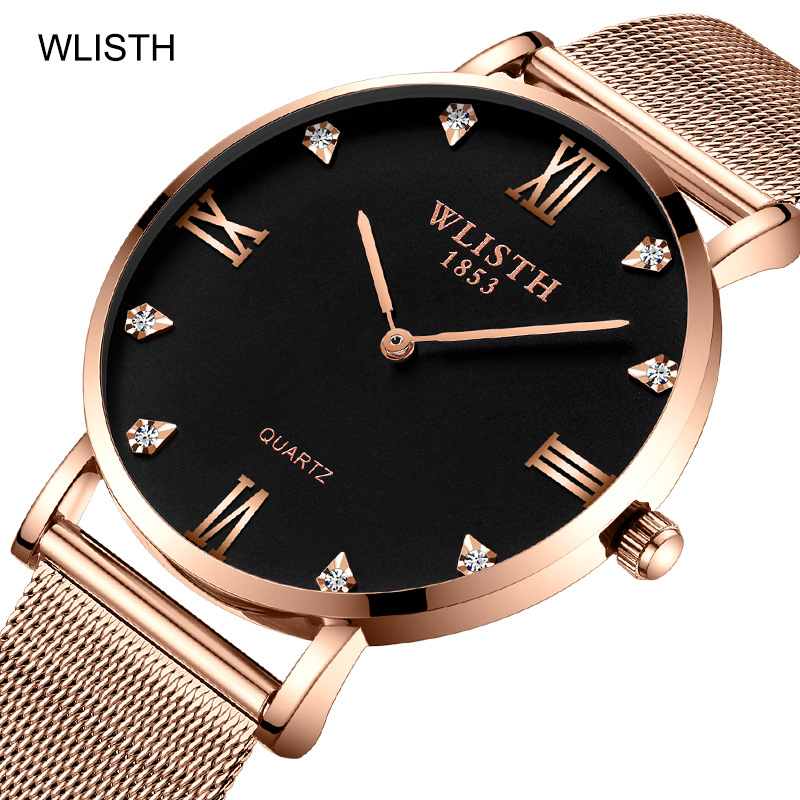 IPS electroplating fashionable waterproof male quartz watch in Women 39 s Watches from Watches
