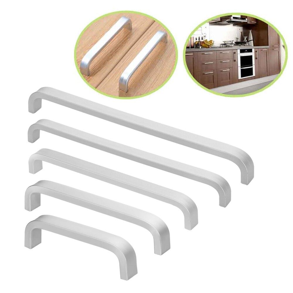 1 Pc Aluminium Pull Griff Knob Schublade Schrank Schrank Möbel Hardware Tür Hause Verbesserung