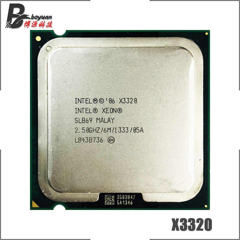 Intel Xeon X3320 2.5 GHz Quad-Core CPU Processor 6M 95W 1333 LGA 775