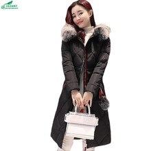 New winter cotton Outerwear large size women's cotton-padded long-collar coat women's fashion long coat clothing OKXGNZ QQ938