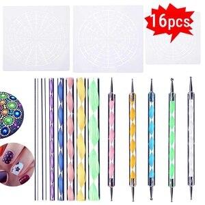 16Pcs DIY Dotting Tool Paintin