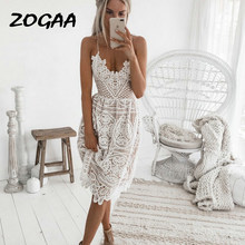Dress Women Sexy White Lace Halter Plus Size Christmas Vintage 2019 Fashion Woman Clothes Black Party Dresses Club Gothic Summer(China)