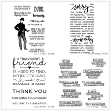 AZSG Sincere Wishes Compliments Word Clear Stamps/Seals For DIY Scrapbooking/Card Making/Album Decorative Silicone Stamp Crafts