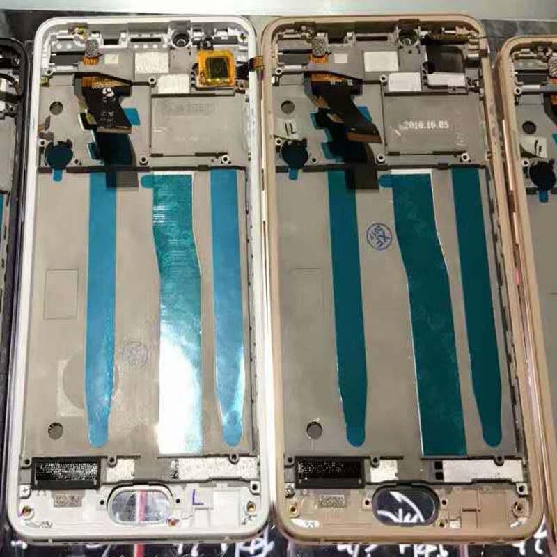 imágenes para Alta Calidad Nueva Pantalla LCD + asamblea de Pantalla Táctil Digitalizador Para meizu u10 teléfono 5.0 pulgadas 1280*720 con marco negro/blanco