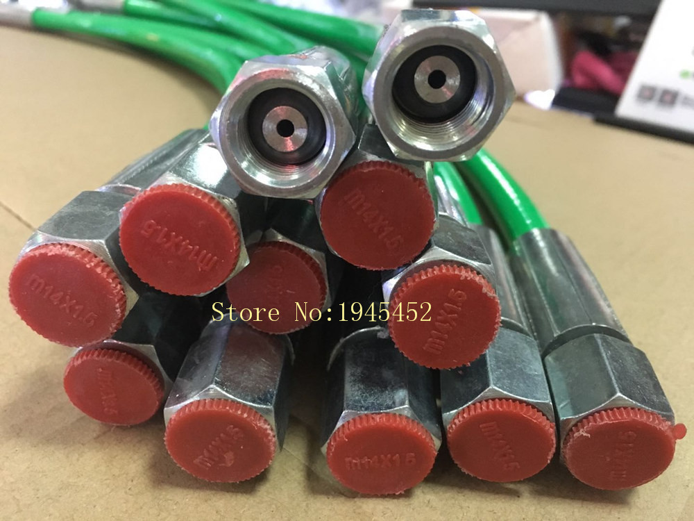 Good quality! 65 75 85 95cm high pressure 2600bar Diesel pipe tube for common rail test bench, common rail test bench pipe part