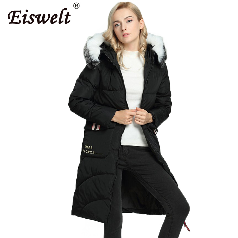Warm Thick Russia Winter Jackets Women's Coat Down Snow Warm Plus Size Ukraine Cotton Padded Parkas Hooded Fur Outerwear & Coats winter jackets men plus size parkas fashion cotton padded warm winter coat plus velvet thick hooded over coat down army green