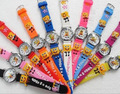 Free Shipping Wholesale Cute SpongeBob Watch,3D Cartoon Quartz 10pcs/set Promotion children Digital for Xmas