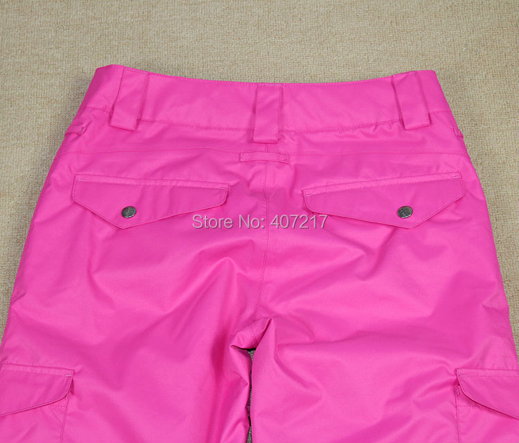 Womens violet ski pants female purple snowboarding pants outdoor sports trousers skating pants waterproof breathable warm 21
