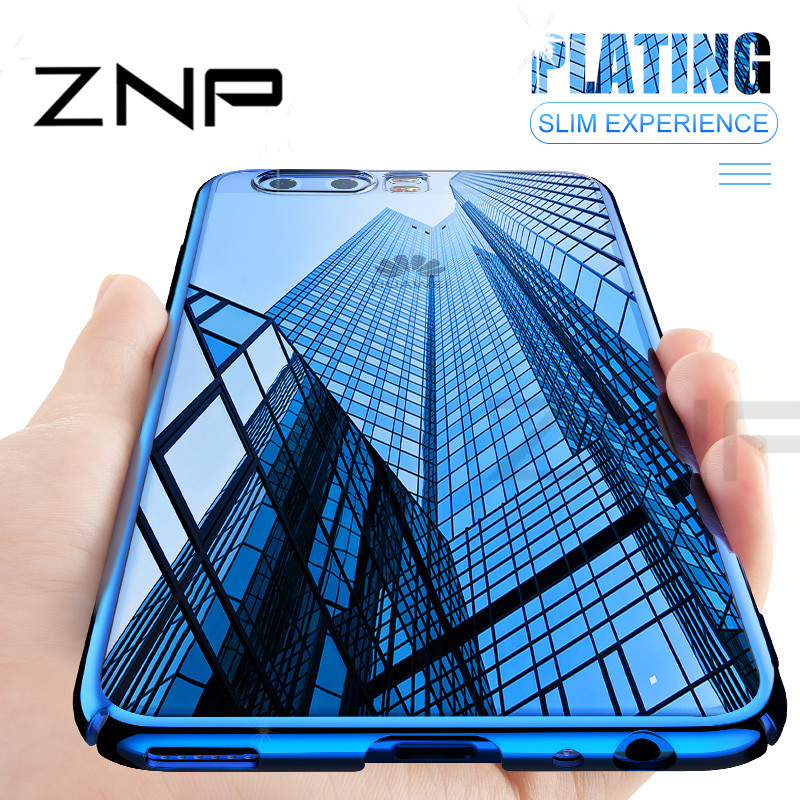 ZNP Luxury Silicone Soft Case For Huawei P10 Lite P10 Plus P10 Eectroplated TPU Phone Cover For Huawei Honor 9 9 Lite V10 Case