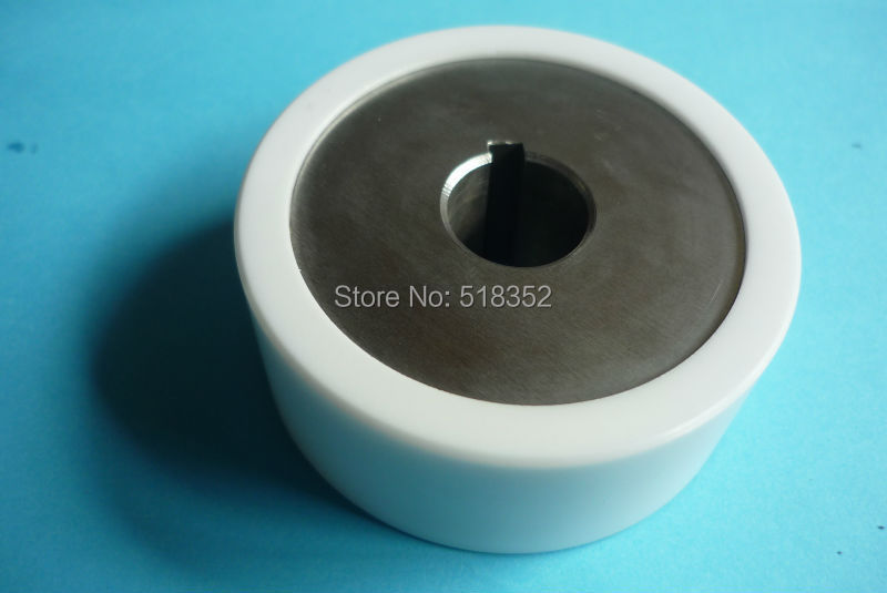 332.015.168 Agie Charmilles CA20 Wire Rewinding Ceramic Roller Size: D63xd16x25mm Pulley for WEDM-LS Wire Cutting Machine Parts spraying ceramic wire copper guide pulley for niehoff wire drawing machine