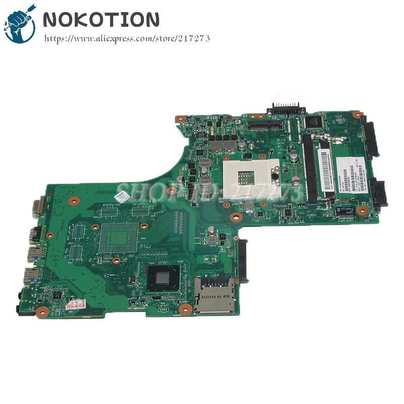 NOKOTION 6050A2492401-MB-A02 V000288220 1310A2492460 Laptop Motherboard For Toshiba satellite P870 P875 Mainboard SLJ8E DDR3 nokotion sps v000198120 for toshiba satellite a500 a505 motherboard intel gm45 ddr2 6050a2323101 mb a01