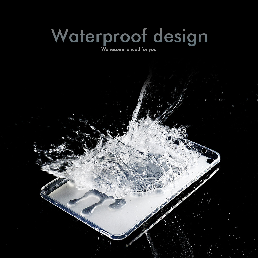 For Transparent iPad Pro 12.9 Pro 4th 2020 Waterproof iPad Cover For 2nd Case generation