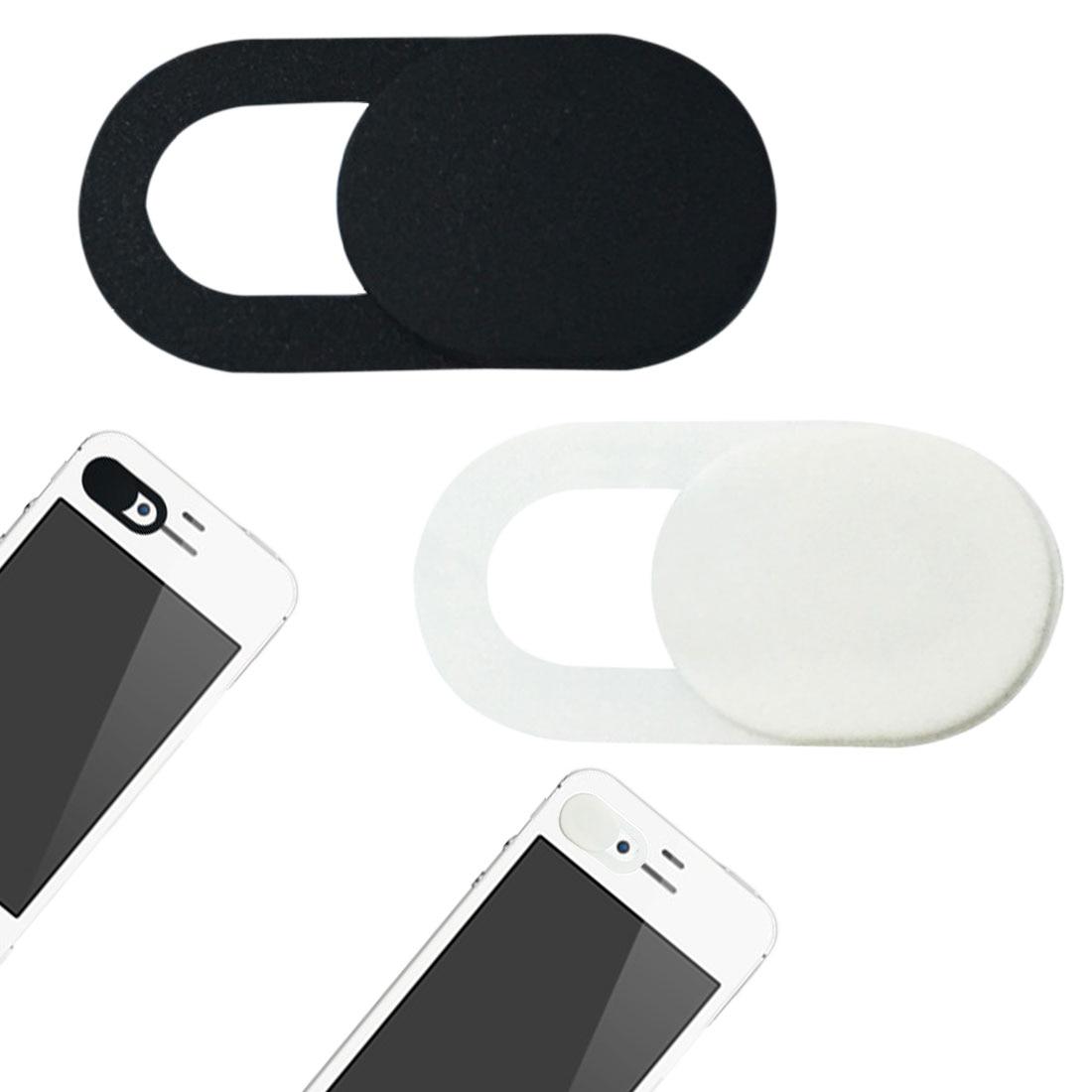 6pc Webcam Shutter Slider Plastic Camera Cover Sticker Ipad Phone Web Laptop Mac