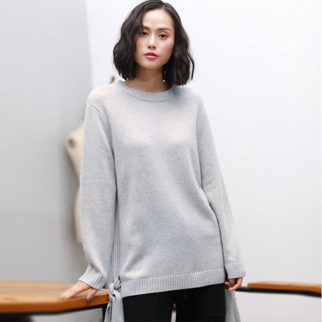 Kashana Pure Cashmere Sweater Long Sleeve Women Autumn 2017 Ladies ...
