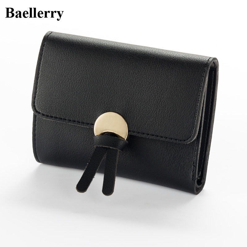 New Designer Fashion Leather Women Wallets Brand Short Hasp Coin Purses Credit Card Holders Clutch Handbags Female Money Bags ougold women wallet famous brand fashion smooth pu leather female thin hasp wallets red credit card holders