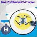 1 pcs rc drone quadcopter helicóptero fast-fold pista de aterragem heliponto dronepad dji fantasma 4 3 2 inspire 1 mavic acessórios pro