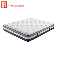 hotel bed mattress with memory foam pillow top bedroom furniture