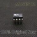 1 ШТ. Оригинальный Новый MUSES02 Двойной ОПЕРАЦИОННЫЙ усилитель, бесплатная Доставка