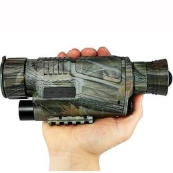 Digital HD 200 m visión nocturna de caza de Monocular camuflaje salvaje de caza de infrarrojos Monocular de caza al aire libre telescopio